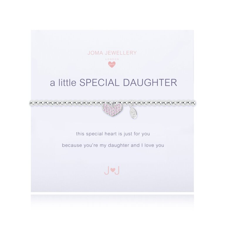 Children's a little Special Daughter Bracelet