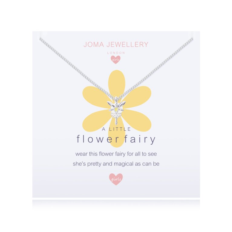 Children's A Little Flower Fairy Daisy Necklace