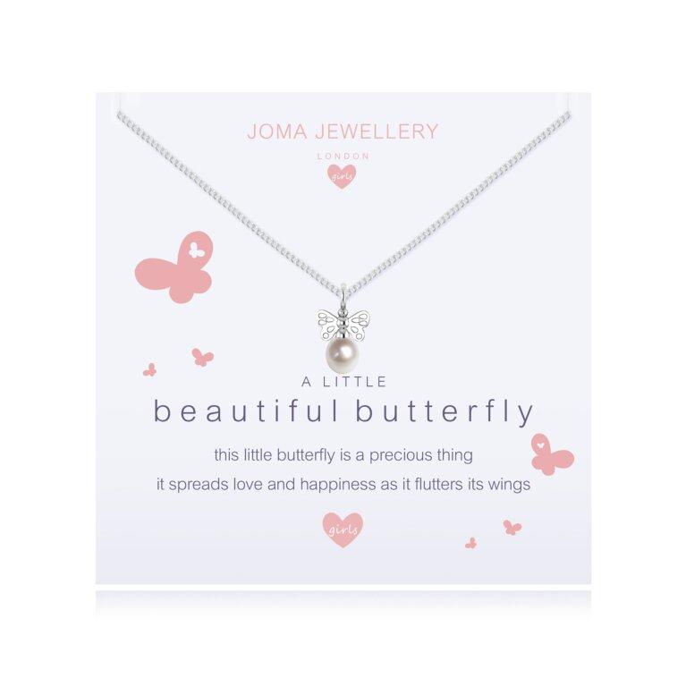 Children's a little Beautiful Butterfly Necklace