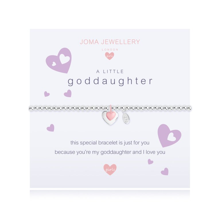 Children's a little Goddaughter Bracelet