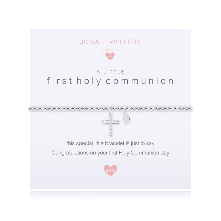 Children's a little First Holy Communion Bracelet