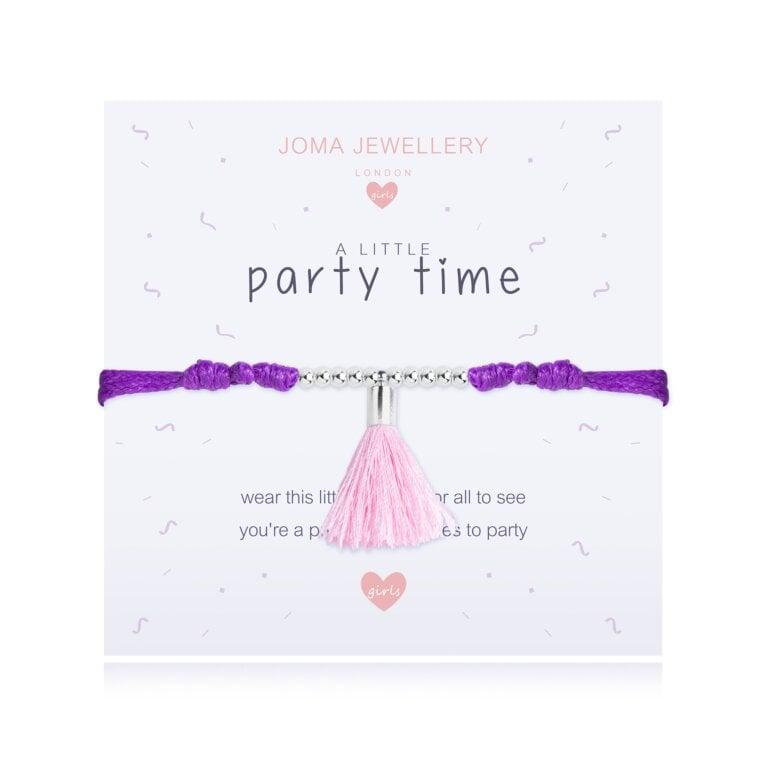 Children's A Little Party Time Bracelet