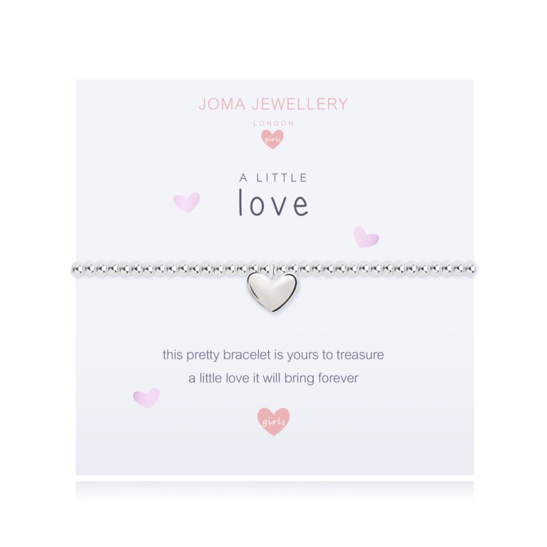 Children's a little Love Bracelet | Pink