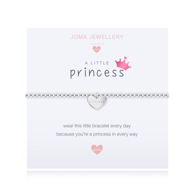 Children's a little Princess Bracelet | Bright Pink