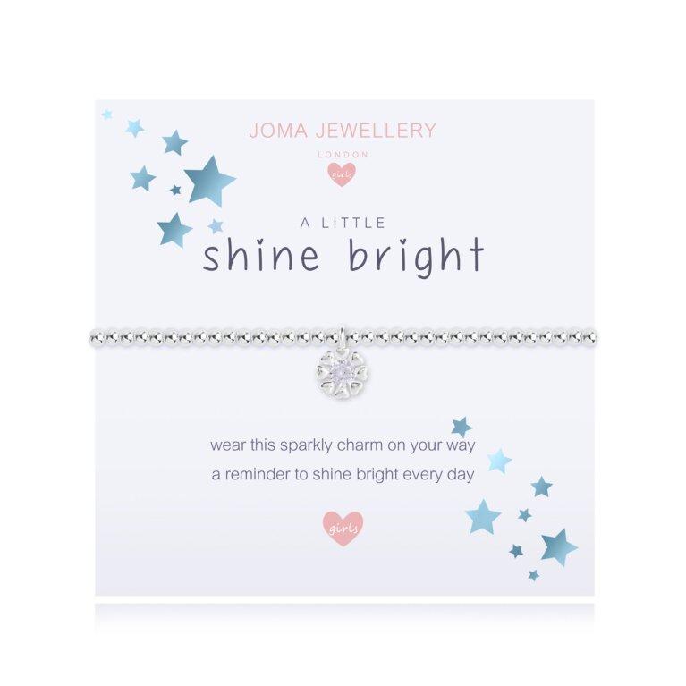 Children's a little Shine Bright Bracelet | Pale Blue
