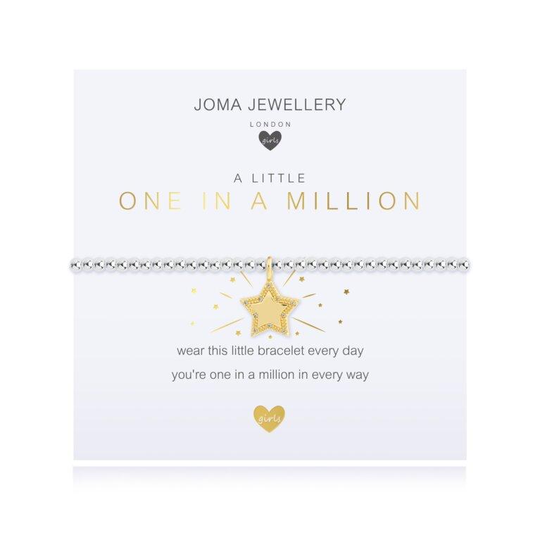 Children's A Little One In A Million Bracelet