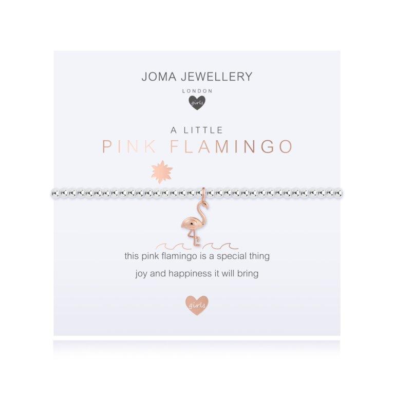 Children's A Little Pink Flamingo Bracelet