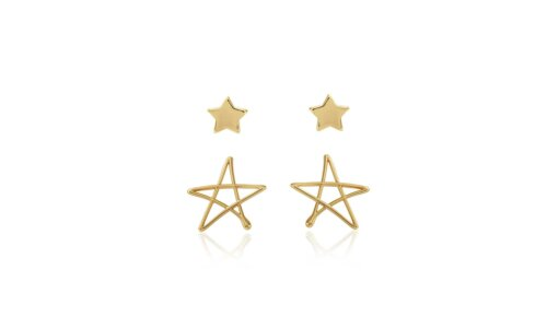 Florrie Star Stud Earrings