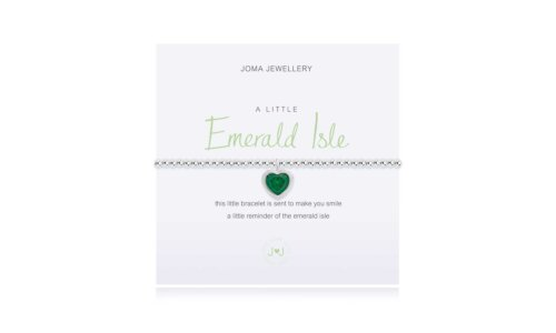 a little Emerald Isle Bracelet | Irish