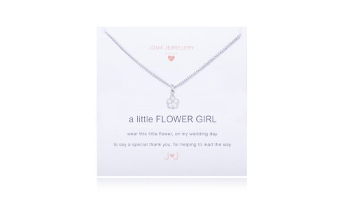 Children's a little Flower girl Necklace