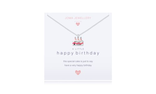 Children's a little Happy birthday Necklace