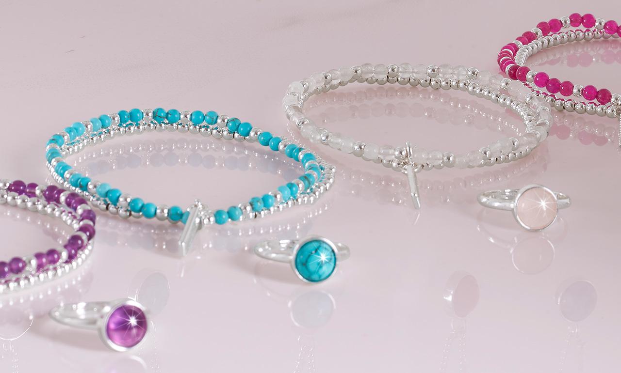 Signature Stone Bracelets