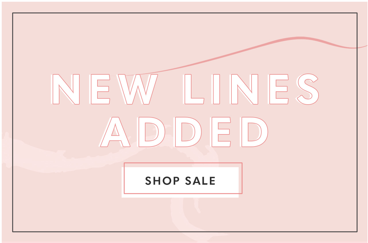 Spring Sale New Lines Added