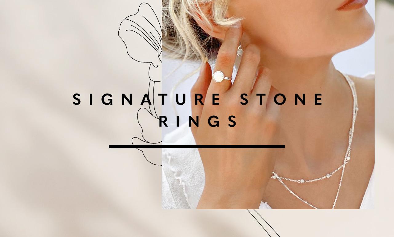 Signature Stones Rings