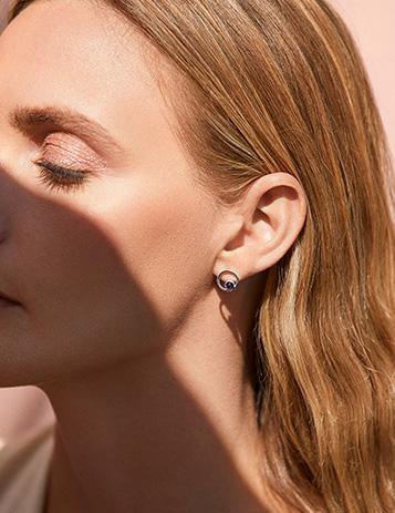 Boxed Birthstone Earrings