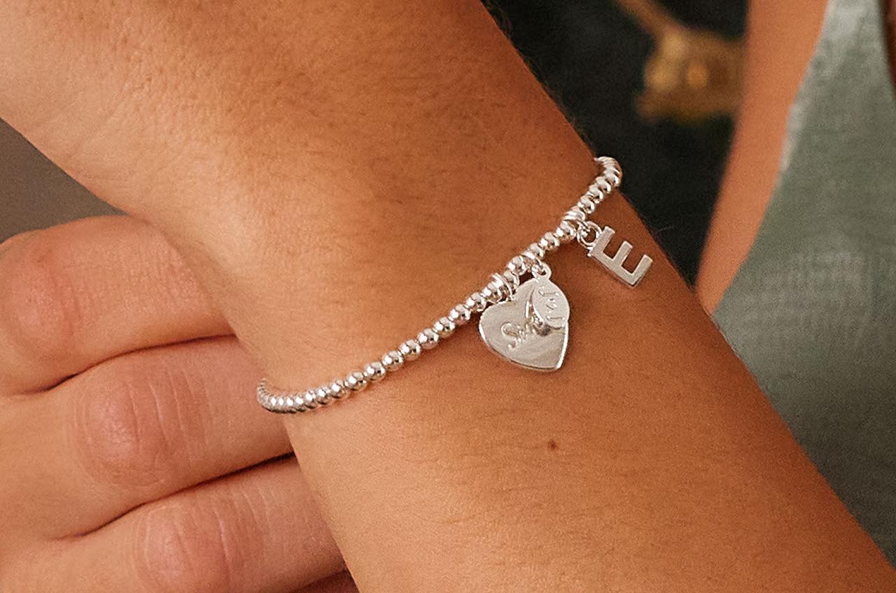 Personalised A Little Bracelets
