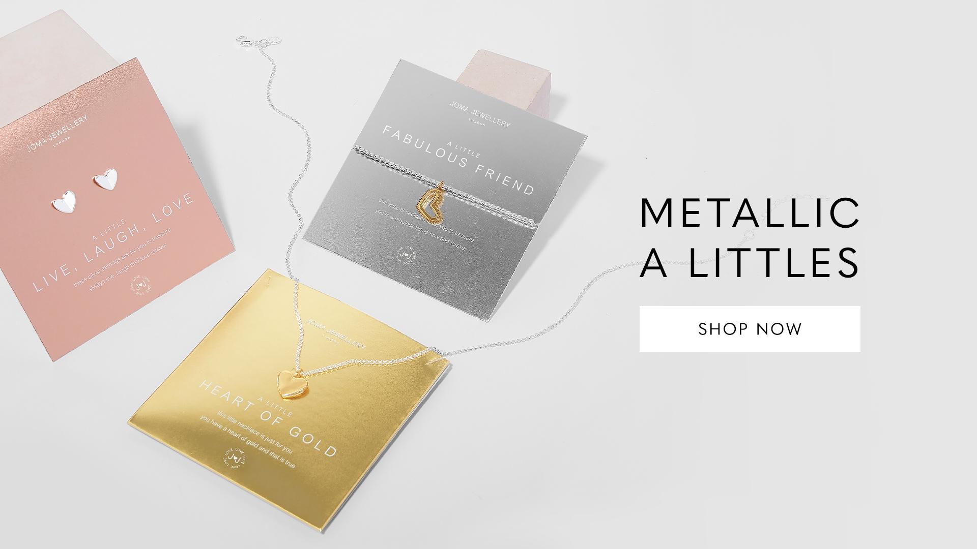 Metallic A Littles